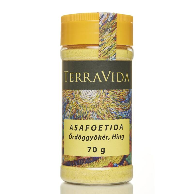 Asafoetida (Ördöggyökér; Hing) 70gr, fűszerszóróban